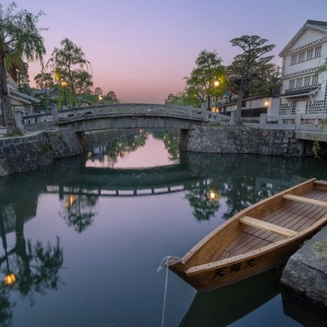 Dusk in the Kurashiki Bikan Quarter